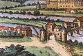 Münden 1584 Franz Hogenberg1 cropped Blümer Werder.jpg