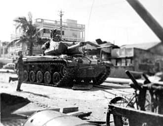 Army of the Republic of Vietnam - M41 Walker Bulldog was used by the ARVN