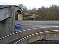M4 footbridge, Malpas - geograph.org.uk - 747455.jpg