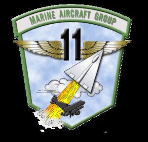 Marine Aircraft Group 11 - Image: MAG 11 insignia