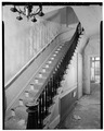 MAIN STAIRHALL, VIEW TO SOUTHEAST - Hayt Farmstead, Mansion, Route 311, Patterson, Putnam County, NY HABS NY,40-PAT,2-A-7.tif
