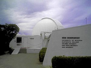 MDM Observatory - MDM McGraw-Hill 1.3 m Telescope