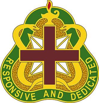 United States Army Medical Command - Image: MEDCOM DUI