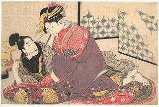Hokusai, Negai no itoguchi(Plate No. 0)