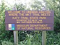 MKT-Katy Trail Intersection Sign - panoramio.jpg