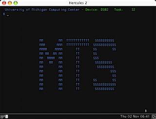 Michigan Terminal System mainframe operating system