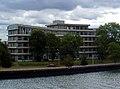 Maastricht - Sint Maartenspoort - PLEM-gebouw (vanaf Noorderbrug) (cropped).JPG
