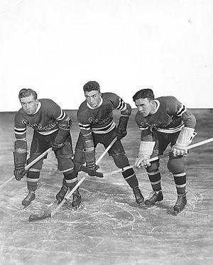 Alex Shibicky - Mac Colville, Neil Colville and Alex Shibicky, 1938