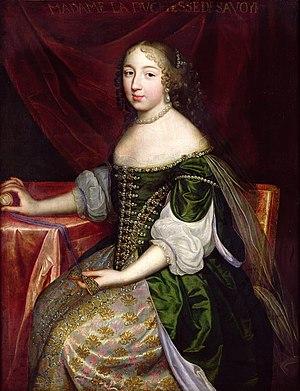 Françoise Madeleine d'Orléans - Image: Madame la Duchesse de Savoye, Charles Beaubrun