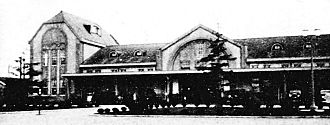 Maebashi Station - Maebashi Station in the early 20th century