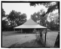 Magnolia Plantation, Blacksmith Shop, LA Route 119, Natchitoches, Natchitoches Parish, LA HABS LA,35-NATCH.V,2-D-4.tif