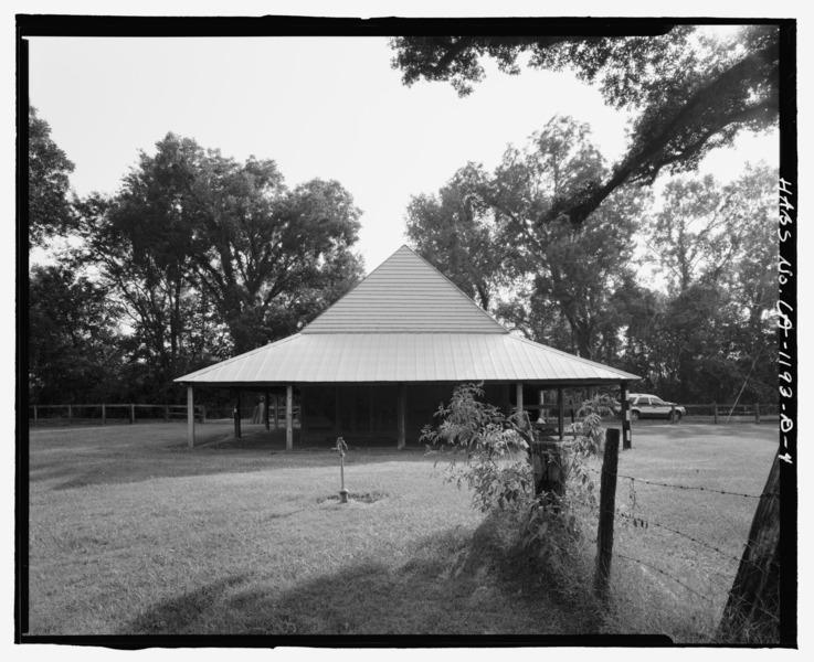 File:Magnolia Plantation, Blacksmith Shop, LA Route 119, Natchitoches, Natchitoches Parish, LA HABS LA,35-NATCH.V,2-D-4.tif