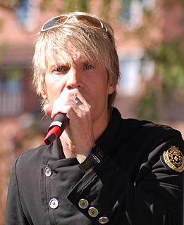 Magnus Bäcklund (singer) Swedish male singer