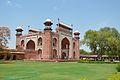 Main Gateway - South-west View - Taj Mahal Complex - Agra 2014-05-14 3733.JPG