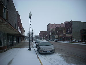 Main Street in Pipestone