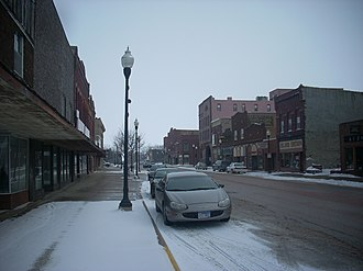 Pipestone, Minnesota - Downtown Pipestone