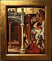 Mair von landshut (baviera), scene del martirio di giuda taddeo, 1500-20 ca. (milano, poldi pezzoli) 10.jpg