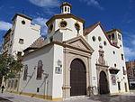 Malaga-Mural azulejos 01 Iglesia San Pedro.JPG