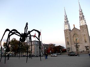 Maman (sculpture) - In Ottawa