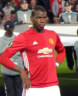 File photo of Paul Pogba. Image: Ardfern.