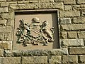 Manchester coat of arms, Lune Waterworks Bridge - geograph.org.uk - 1710017.jpg