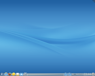 Mandriva Linux - Image: Mandriva Desktop 2011 default view