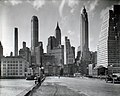 Manhattan Skyline I South Street and Jones Lane Manhattan by Berenice Abbott March 26 1936.jpg