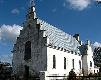 Manevychi - Roman Catholic church in Manevychi