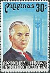 Manuel L. Quezón 1978 stamp of the Philippines.jpg