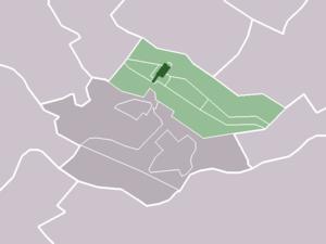 Langbroek - Image: Map NL Wijk bij Duurstede Langbroek