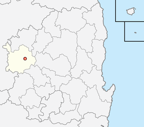 Location of Sangju