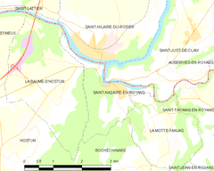 Map commune FR insee code 26320.png