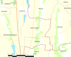 Map commune FR insee code 40247.png