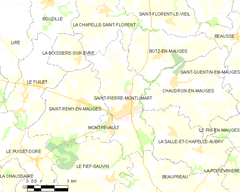 Map commune FR insee code 49313.png