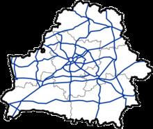 Roads in Belarus Wikipedia