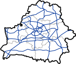 Map of Automobile Roads in Belarus.png