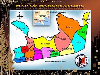 Margosatubig, Zamboanga del Sur - Map of Margosatubig