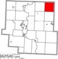 Map of Muskingum County Ohio Highlighting Monroe Township.png