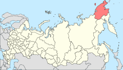 Map of Russia - Chukotka Autonomous Okrug (2008-03).svg