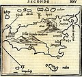 Map of Sicily according to contemporary geographers - Bordone Benedetto - 1547.jpg