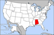 Map of USA highlighting Alabama.png