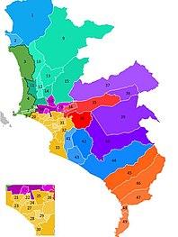 Lima metropolitan area Place in Peru