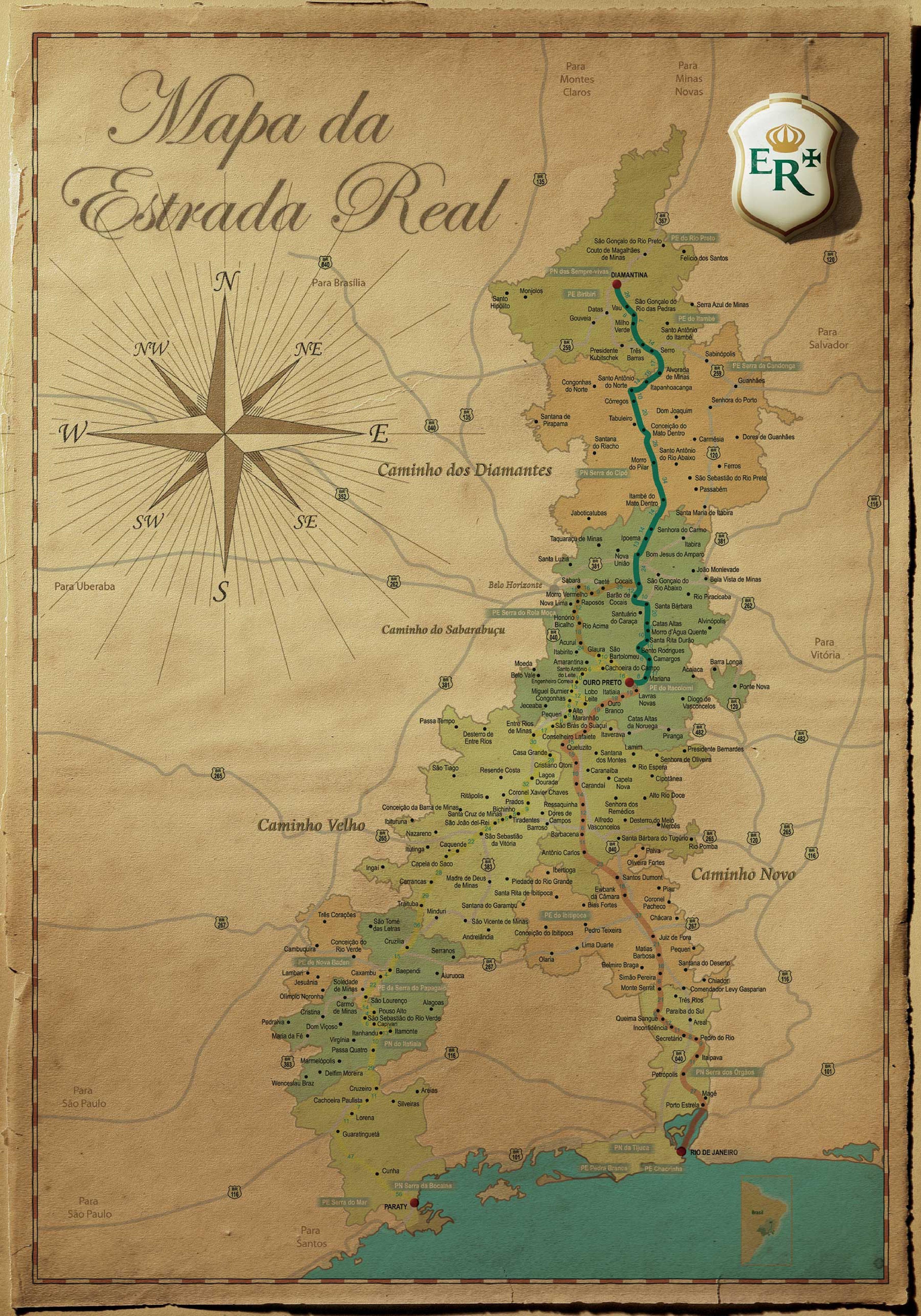 mapa da estrada File:Mapa da Estrada Real.pdf   Wikimedia Commons mapa da estrada