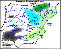 Llengües paleohispàniques.