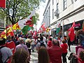 March for Welsh Independence arranged by AUOB Cymru First national march; Wales, Europe 27.jpg