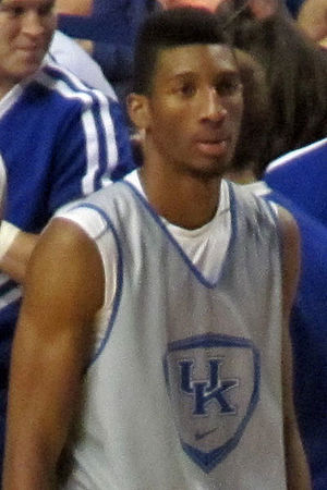 Marcus Lee - Lee in Kentucky's Blue-White scrimmage in 2013