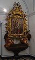 Mare de Déu del Rosari (Jeroni Jacint Espinosa) i retaule oratori (Ignasi Vergara), museu Marià de València.JPG