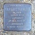 Margaretha Rothe - Heidberg 64 (Hamburg-Winterhude).Stolperstein.crop.ajb.jpg