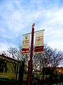 Marguerittes Panneaux de l'AOC Costières.JPG