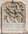 Maria Saal Pfarr-und Wallfahrtskirche Mariae Himmelfahrt Wappengrabstein 1561 28052015 4187.jpg